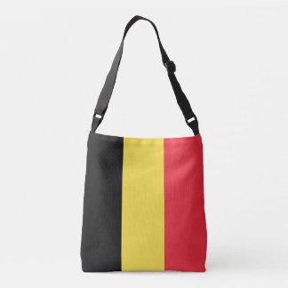 Belgium Flag Crossbody Bag