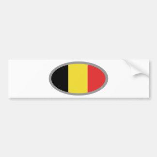 Belgium flag design! bumper sticker