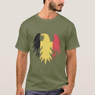 Belgium Flag Eagle T-Shirt