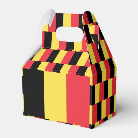 Belgium Flag Favor Box