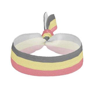 Belgium Flag Hair Tie