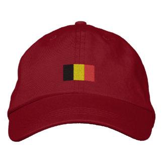 Belgium Flag Hat - Belgian Flag Hat Embroidered Baseball Caps