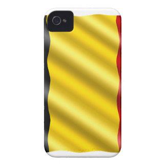 Belgium Flag iPhone 4 Case-Mate Case