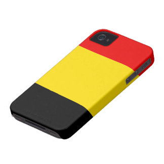 Belgium Flag iPhone 4 Covers