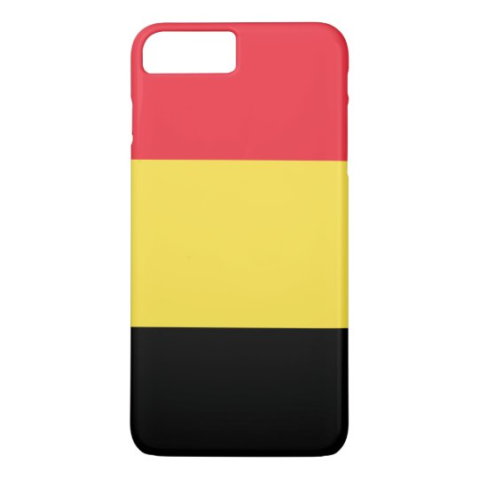 Belgium Flag iPhone 8 Plus/7 Plus Case