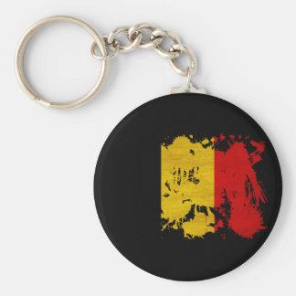Belgium Flag Keychain