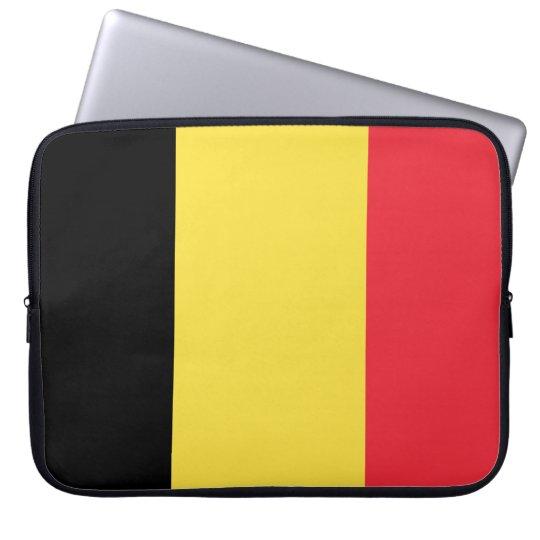 Belgium Flag Laptop Sleeve