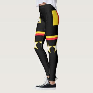 Belgium Flag Leggings