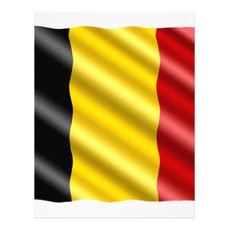 Belgium Flag Letterhead