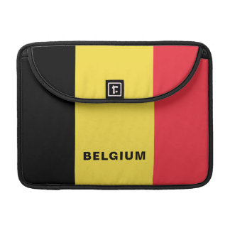 Belgium Flag MacBook Sleeve Pro