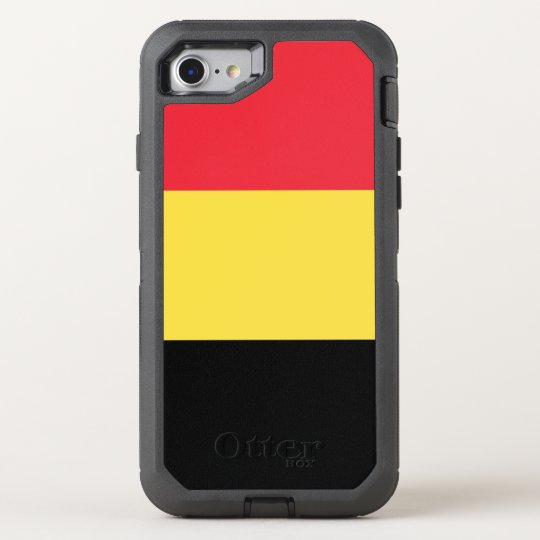 Belgium Flag OtterBox Defender iPhone 8/7 Case