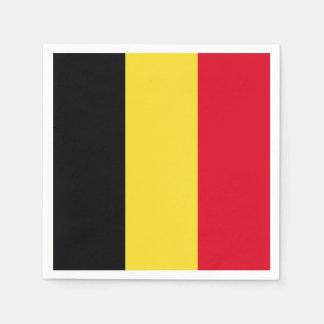 Belgium Flag Paper Napkins