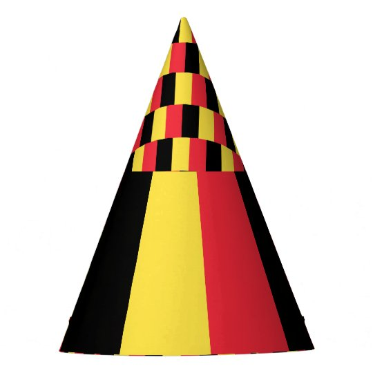 Belgium Flag Party Hat