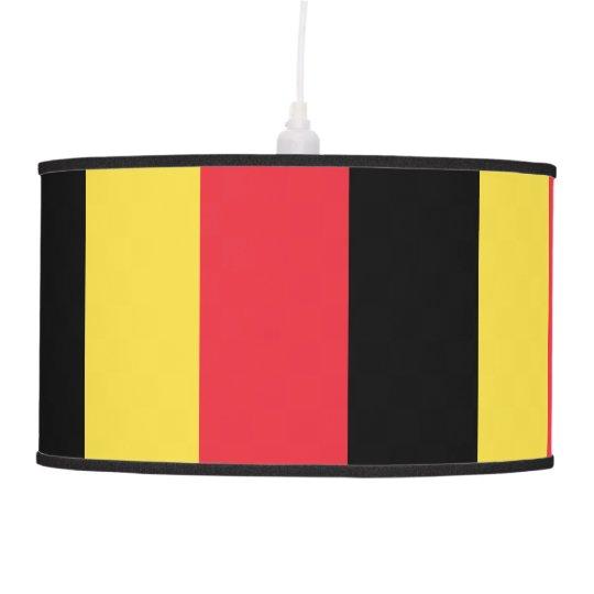 Belgium Flag Pendant Lamp