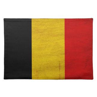 Belgium Flag Place Mat