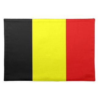 Belgium Flag Place Mats