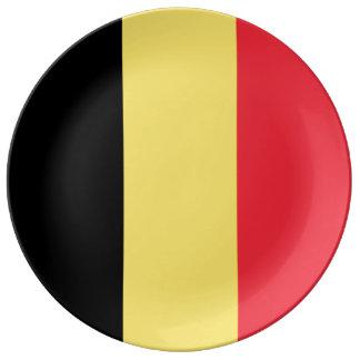 Belgium Flag Plate