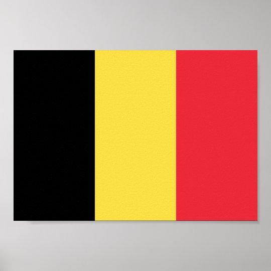 Belgium Flag Poster