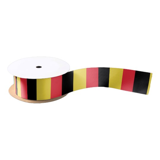 Belgium Flag Satin Ribbon