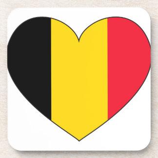 Belgium Flag Simple Coaster