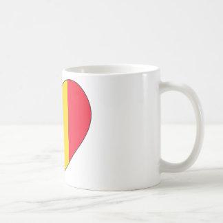 Belgium Flag Simple Coffee Mug