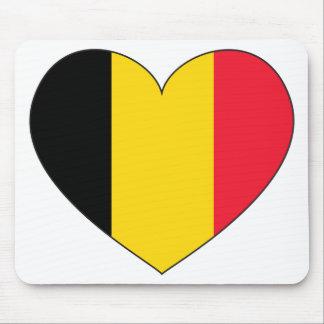 Belgium Flag Simple Mouse Pad