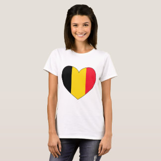 Belgium Flag Simple T-Shirt