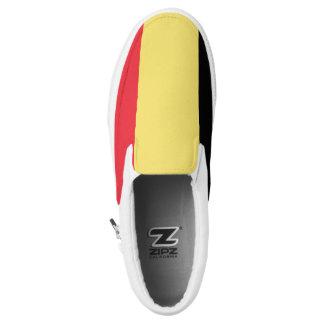 Belgium Flag Slip-On Sneakers