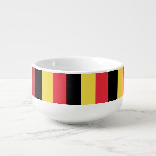 Belgium Flag Soup Mug