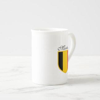 Belgium Flag Tea Cup