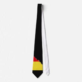 Belgium Flag Tie