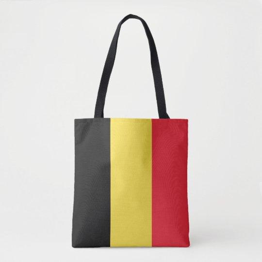 Belgium Flag Tote Bag