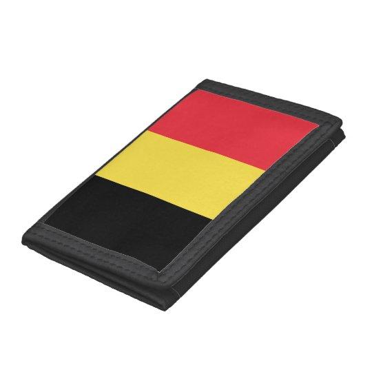 Belgium Flag Tri-fold Wallet