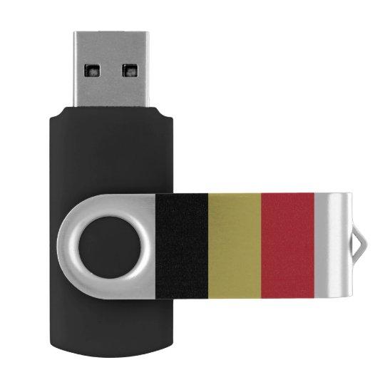 Belgium Flag USB Flash Drive