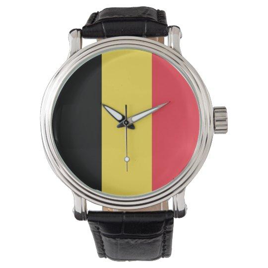 Belgium Flag Watch