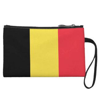 Belgium Flag Wristlets Wallet