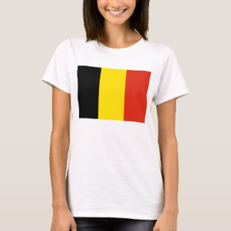Belgium Flag x Map T-Shirt