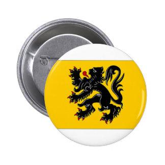 Belgium Flemish Region Flag Pin