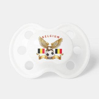 Belgium Football Designs Pacifier