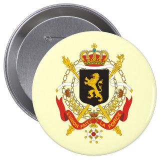 Belgium Government, Belgium 4 Inch Round Button