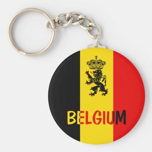 Belgium Keychain