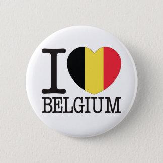 Belgium Love v2 2 Inch Round Button