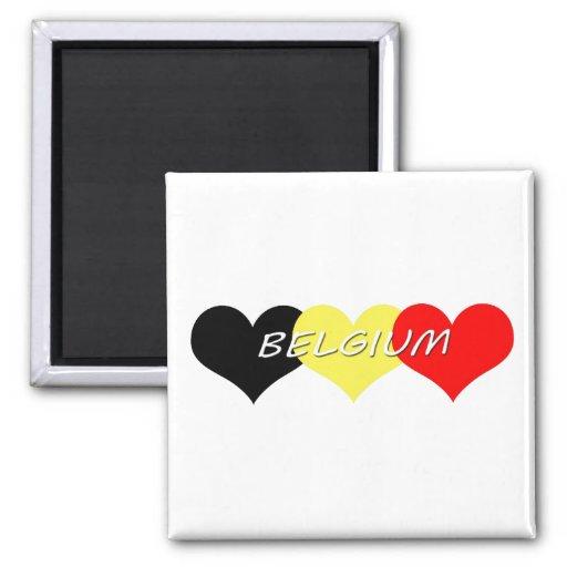 Belgium Magnets
