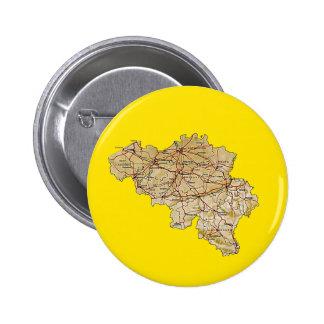Belgium Map Button
