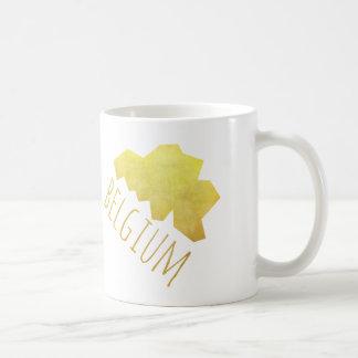 Belgium Map Coffee Mug