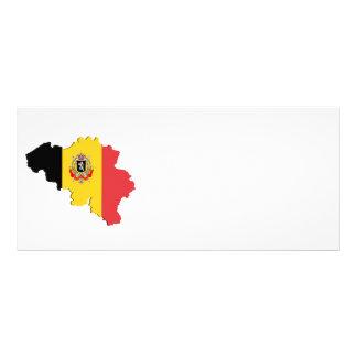 Belgium map custom rack cards