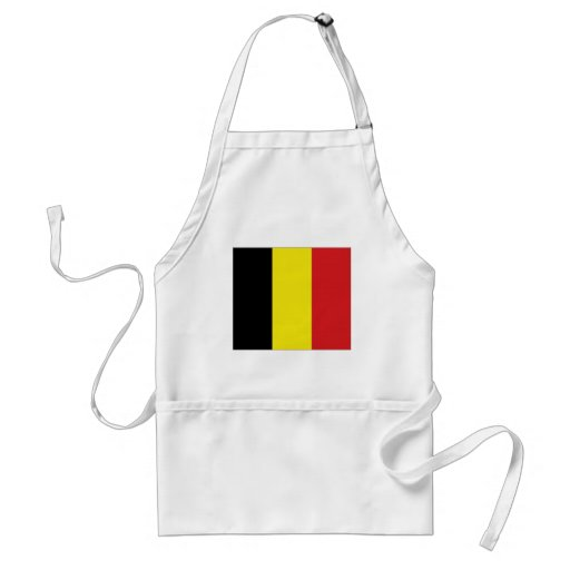 Belgium National Flag Aprons