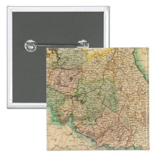 Belgium provinces 2 inch square button