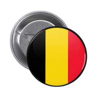Belgium quality Flag Circle 2 Inch Round Button