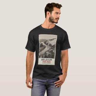 BELGIUM RIVER MAAS  ROOP OF FREYR vintage picture T-Shirt